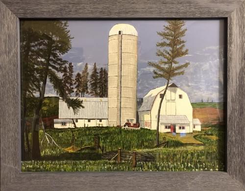 """Northern Farm 18 x 14"""""""