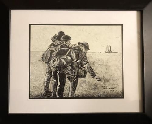 "Going Home (Vimy Ridge) 16 x 13"""