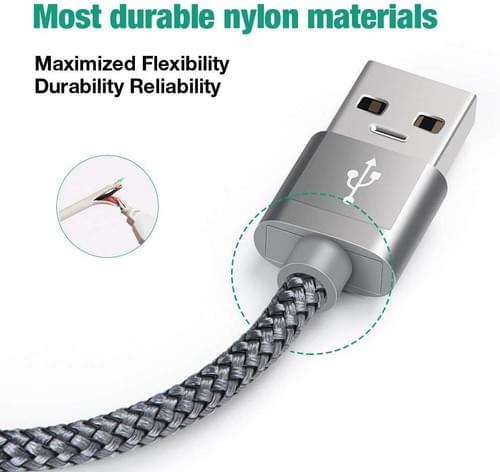 Best USB A to USB C Fast Charging Cable USB C Cable Fast Charging 3A Fast Charge Cable Bulk
