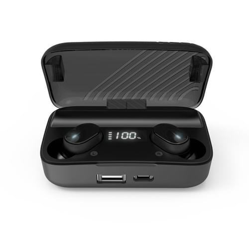 Cheap Price 60 Hour LIfe  2000mA Battery  Wireless Bluetooth Earbuds TWS LED Digital Display Earbuds