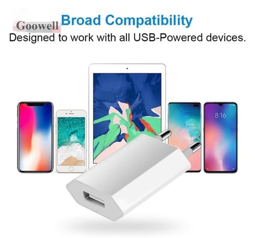 Apple 5w USB Power Adapter Apple Power Adapter High Quality EU AU UK 5V1A Mobile Phone Charger