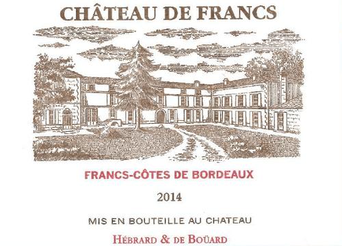 Château de Francs 2014