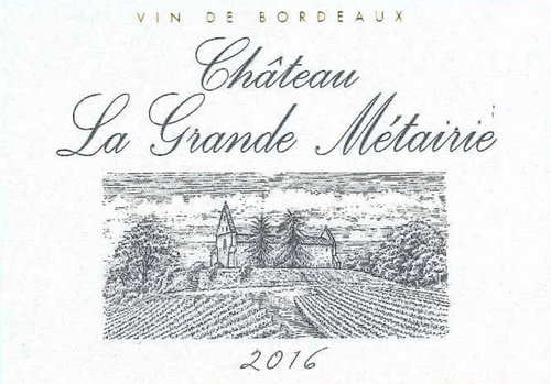 Château La Grande Métairie 2016