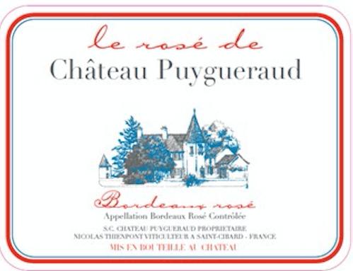 Le Rosé de Chateau Puygeraud 2014