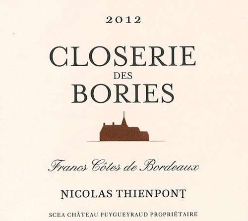 Closerie des Bories 2012