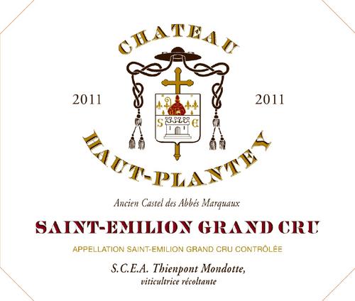 Château Haut Plantey 2011