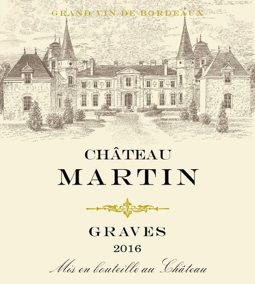 Château Martin White 2016