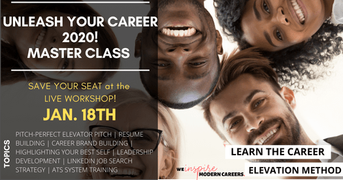 """Developing a Career Elevation Mindset """"Master Class"""""""