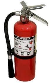 """""""Extintores de fuego tipo ABS de PQS """""""