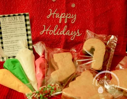 DIY Christmas cookie kits