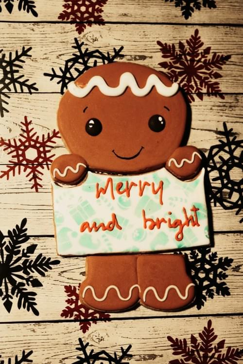 Ginger Bread Name Plaque
