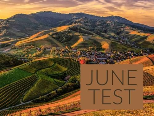 JUNE 2020 TEST