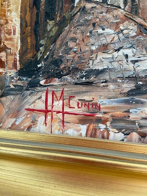 Peinture sur carton de Riquevihr