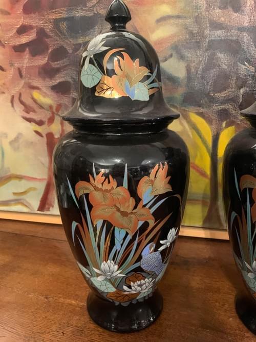 Paire de vase urne