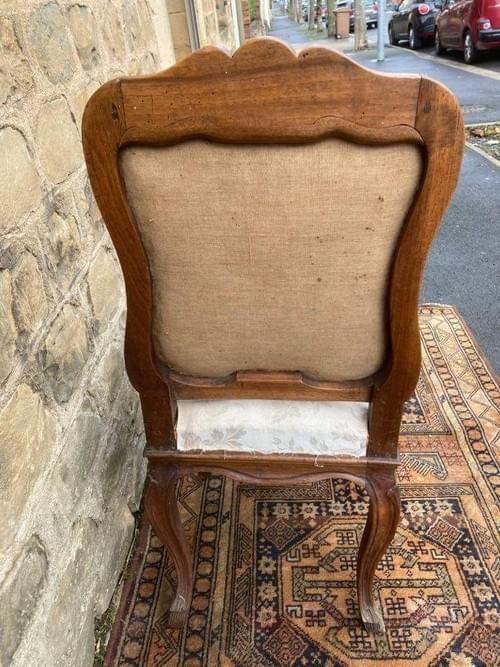 Chaise d'époque Louis XV