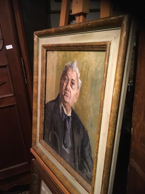 Peinture sur toile, Bourgeois