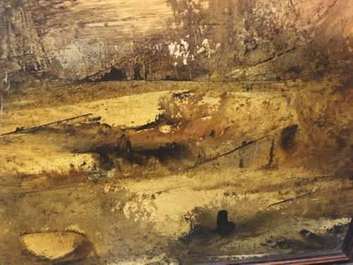 Peinture signée Lucien Rouet