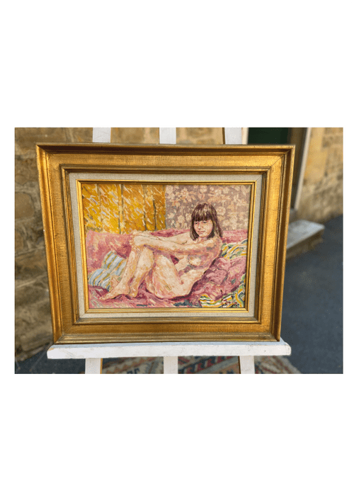 Peinture femme nue
