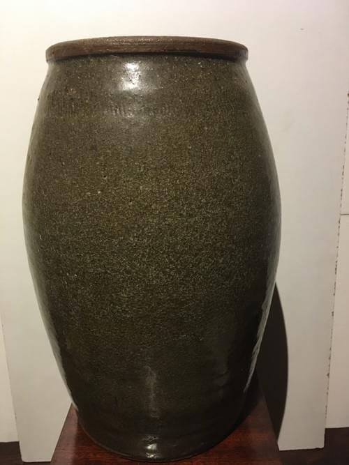Pot en terre cuite Vernissé