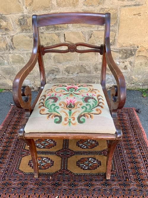 Chaise style Empire