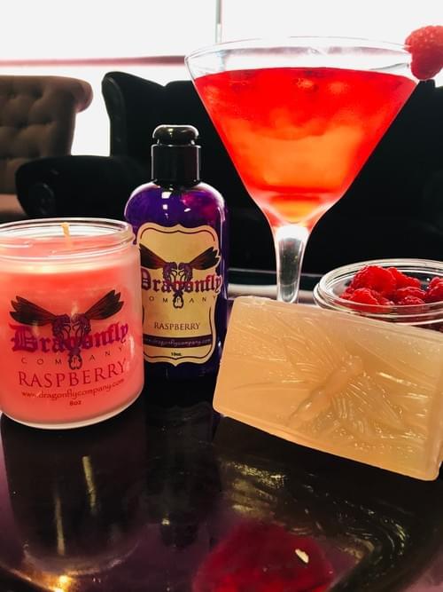 Raspberry Candle
