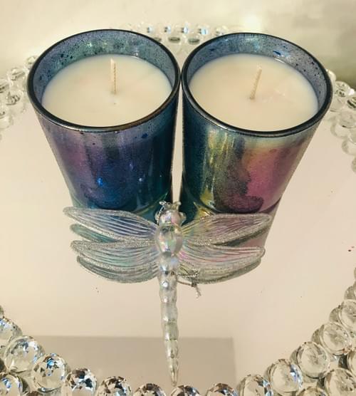 2 Angel votives