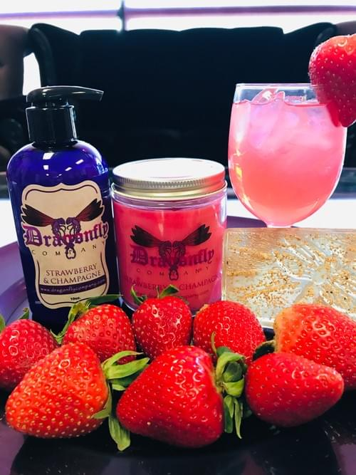Strawberry & Champagne Lotion