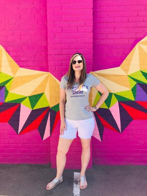 Dragonfly Babe shirt