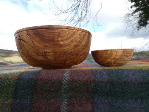 Elm Double Nested Bowl Set