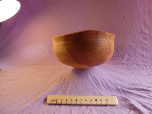 Applewood deep large bowl