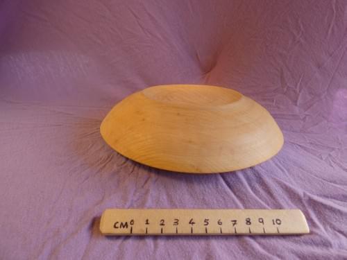 Ash shallow bowl