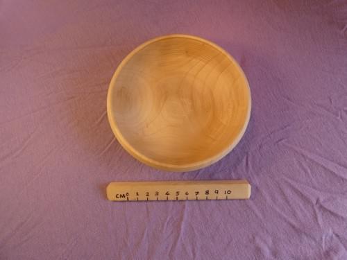 Sycamore shallow dish