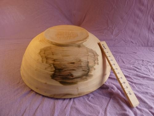 Spalted Sycamore salad or fruit bowl