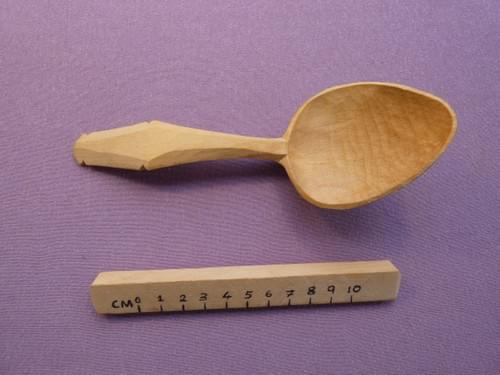 Sycamore Serving Spoon