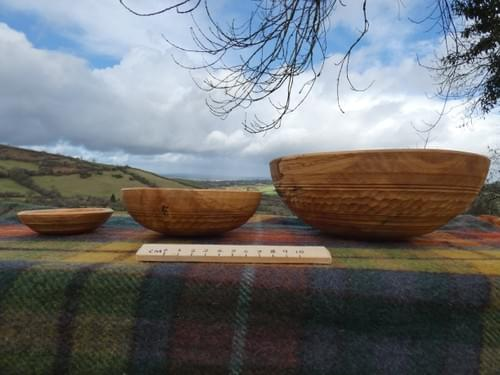 Sycamore Triple nested bowl set