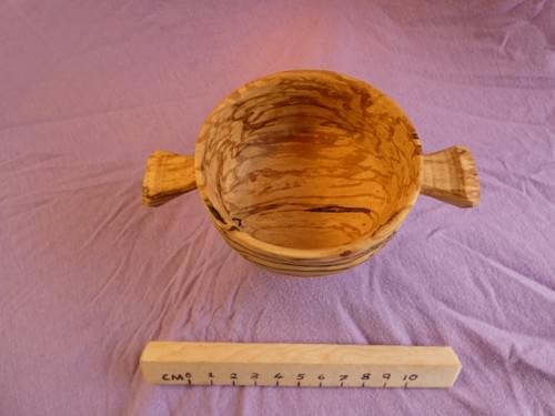 Spalted Beech Snibskal sharing cup