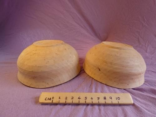 Birch large deep eating bowl set of 2