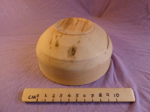 Spalted Sycamore deep dish