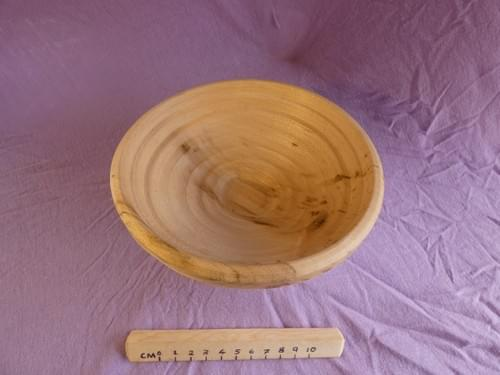 Spalted Sycamore small bread prooving bowl