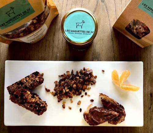 Pâte à tartiner chocolat - noisette et ses éclats de caramel (DISPONIBLE UNIQUEMENT LE 23 DECEMBRE)