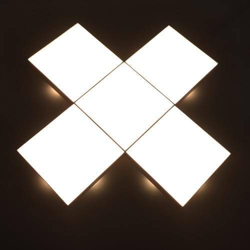 Square light modulars for room decoration