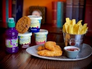 Chicken Goujons Meal Deal Fruit Shoot and Glenown Ice Cream or Chocolate Chip Cookie