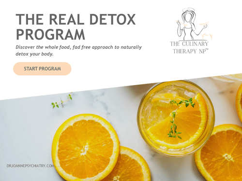 The Culinary Therapy NP Mental Wellness Detox Program