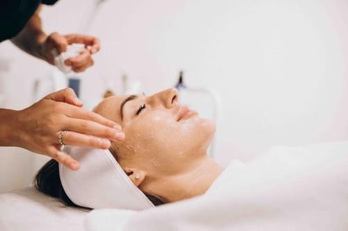 Tratamiento peeling con ácido AHA