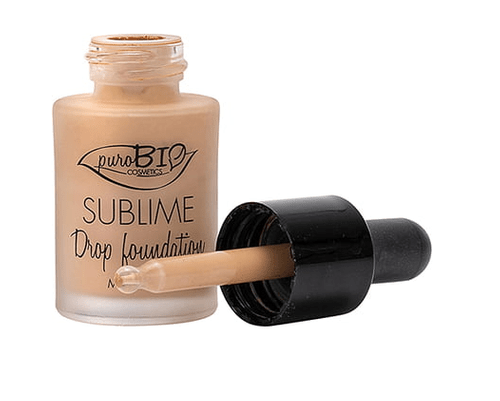 Maquillaje  Sublime Drop Foundation cutis sin imperfecciones