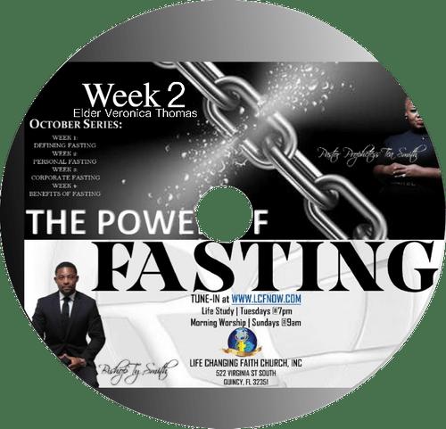 The Power of Fasting Series Week 2 CD