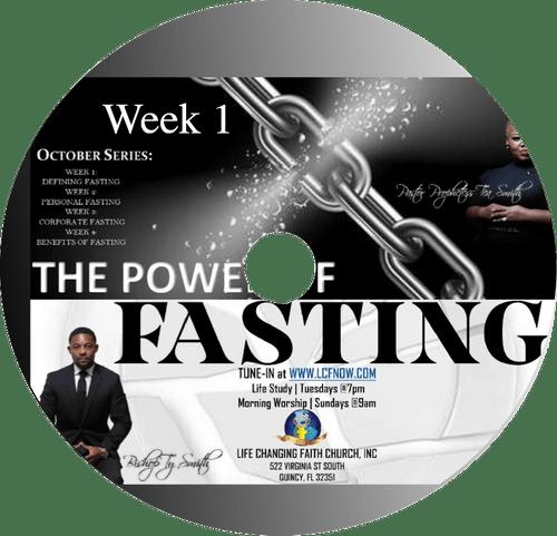 The Power of Fasting Series Week 1 CD