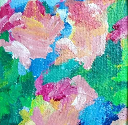 Trust in Bloom (20 x 20 cm)