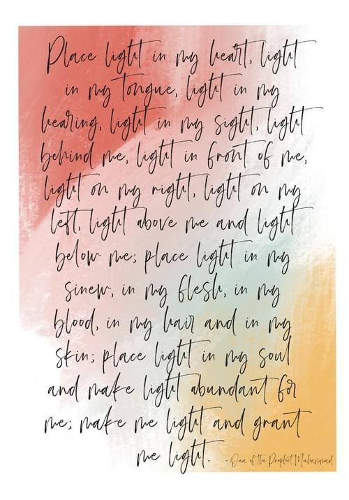 Prayer of Light