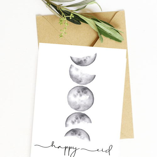 Happy Eid- Moon Phases